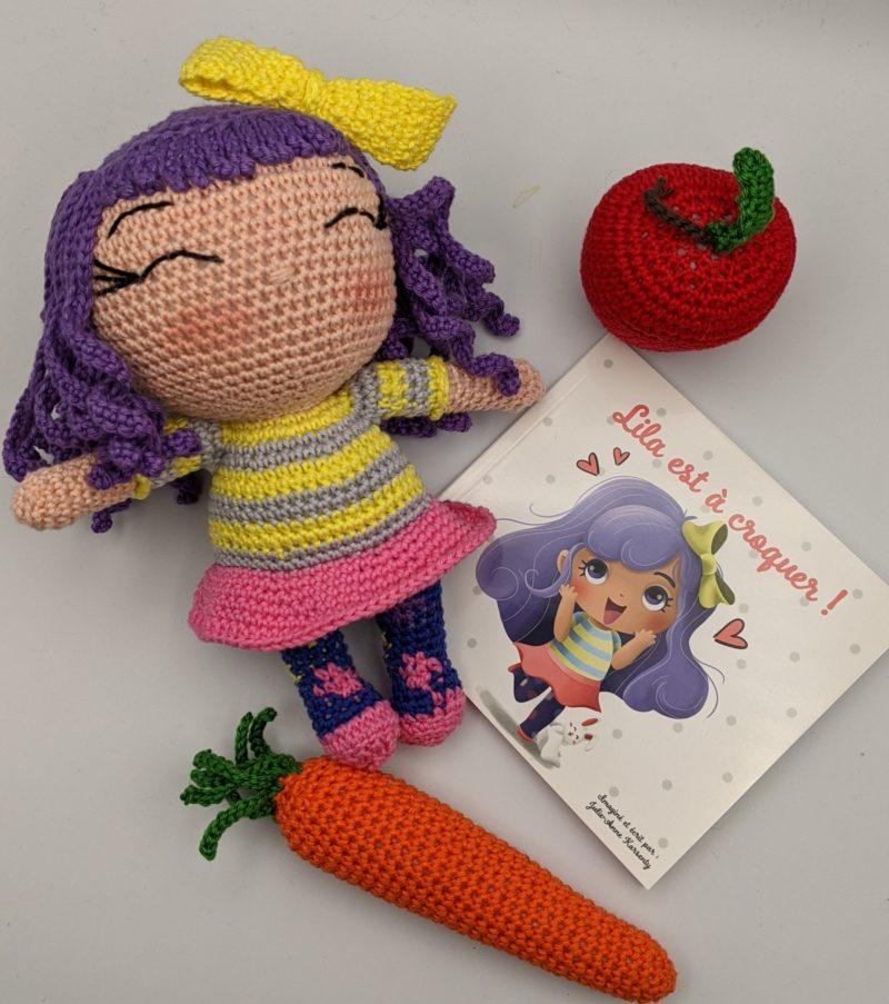 Lila en crochet