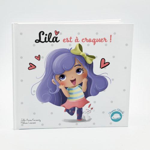 """Tome 1 """"Lila est à croquer"""" Nouveau format"""